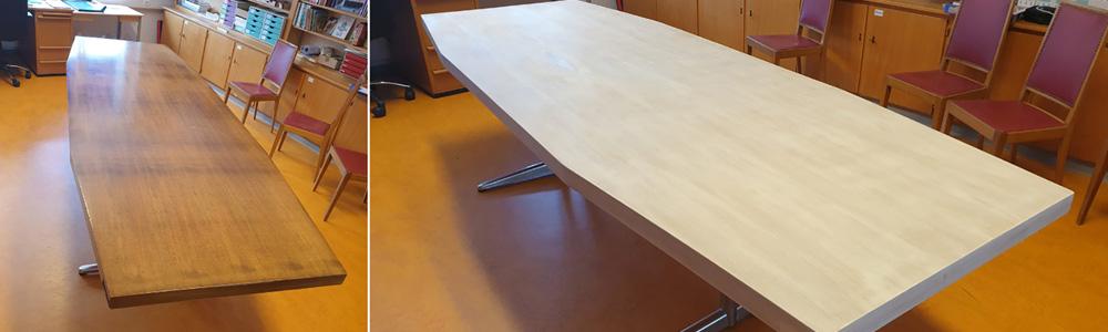 table conference 2 sb red sergio bertone renovation entretien design